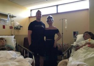 Kim Zolciak Shares Hospital Pic: '2 Kids Same Recovery Room!'