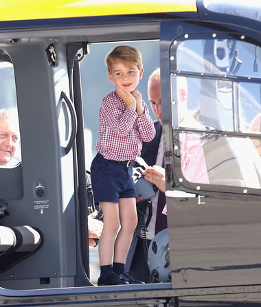Prince George Is So Cute!