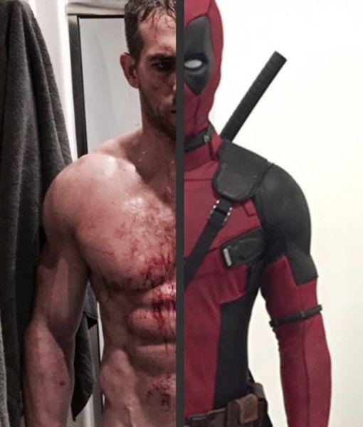 Six-Packed Superhero! Ryan Reynolds Looks Like This Under That 'Deadpool'…