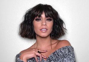 Vanessa Hudgens Debuts 'Bangin' New Look