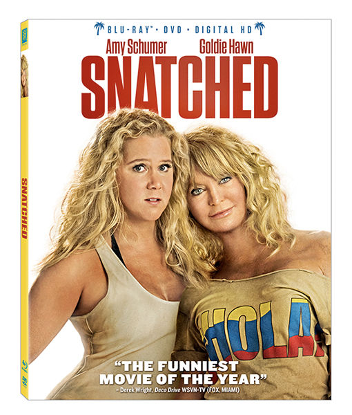 Win It! 'Snatched' on Blu-ray and DVD