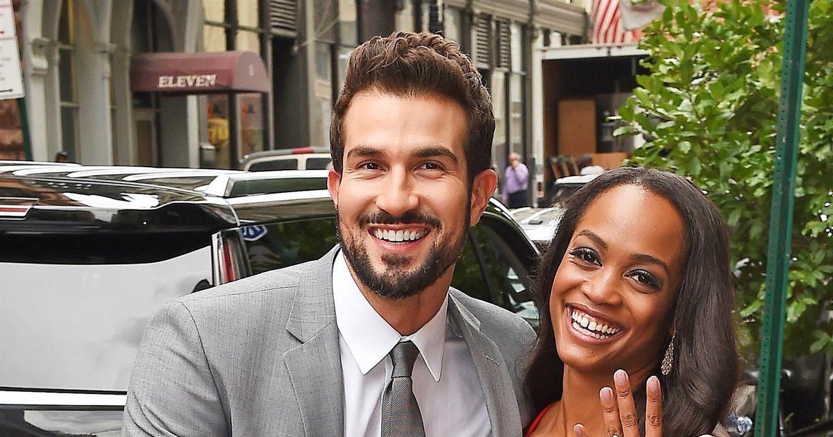 Bachelorette Couple Rachel Lindsay Bryan Abasolo Talk Wedding