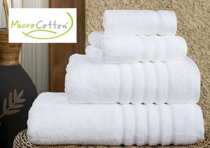 Win It! A Set of Hotel Collection Ultimate Micro Cotton® Bath Towels