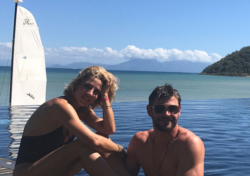 Pics! Chris Hemsworth Celebrates Birthday with Epic Vacay