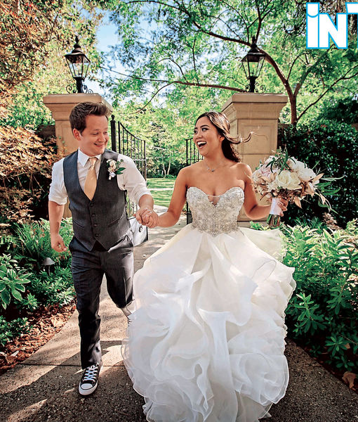 'Hannah Montana' Star Jason Earles Marries Katie Drysen! See the Wedding Photos