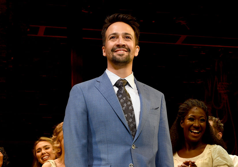 Lin-Manuel Miranda's One-Word Message to President Trump