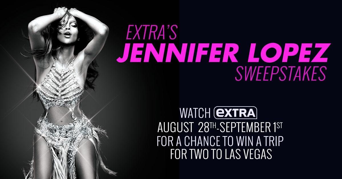 Jennifer lopez extra tv giveaways