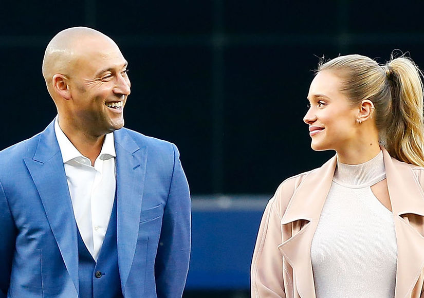 Derek & Hannah Jeter Welcome Baby Girl! Find Out Her Pretty Name