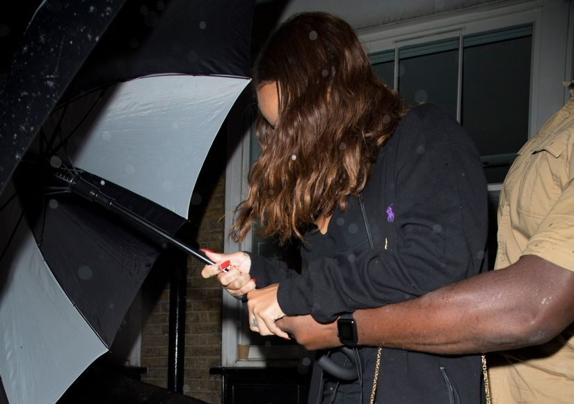 Rihanna Spotted with Billionaire BF, Days After Chris Brown Debuts Tell-All Docu