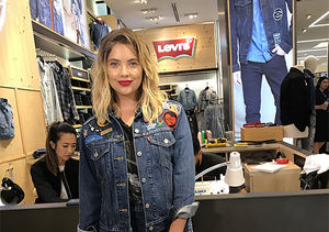 Ashley Benson Shows Off Levi's® Limited Collection at Macy's, Plus: Your…
