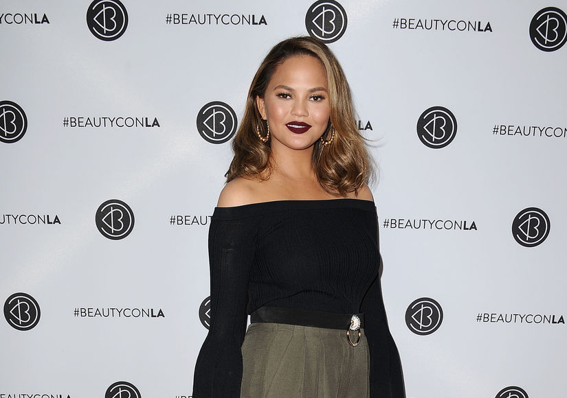 Ow! Chrissy Teigen Reveals Massive Bruise Ahead of Emmys