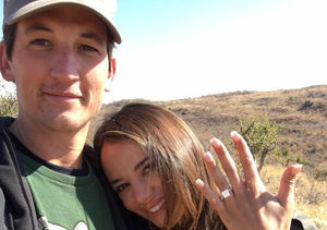 Miles Teller & Keleigh Sperry Engaged — See Her Ring!