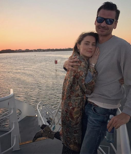 Amber Heard Cozies Up to Hunky Pal After Elon Musk Split