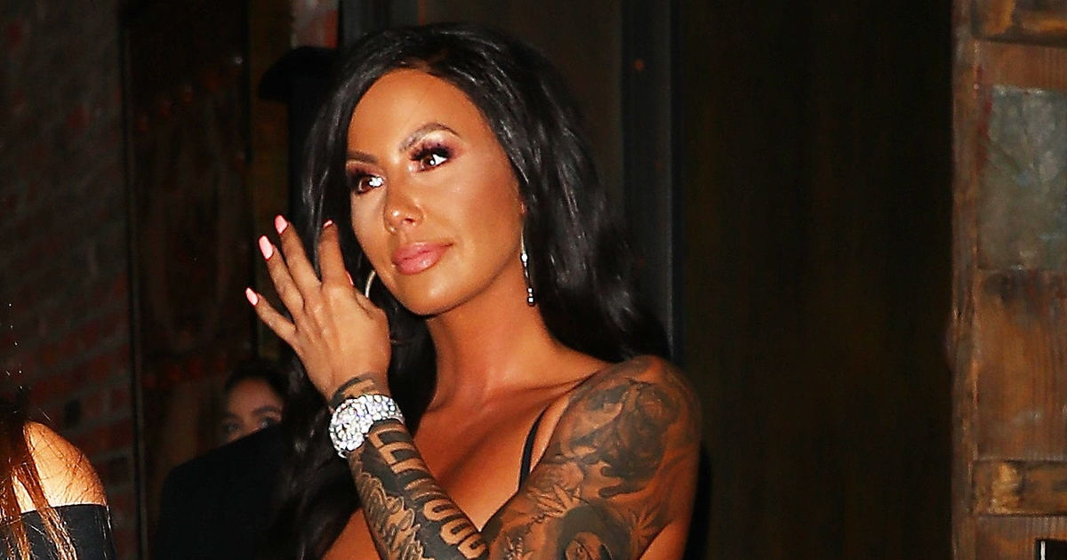 1d49e86ac Did Amber Rose Switch Out Wiz Khalifa Tattoo for Another Famous Musician?