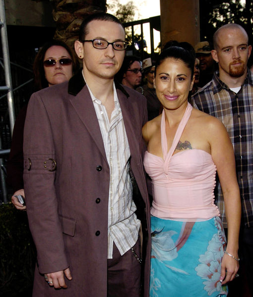Chester Bennington's ex-wife slams his