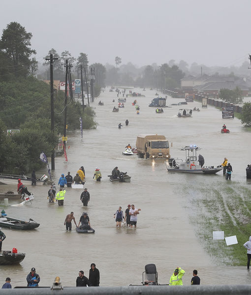 Celebrities React to Hurricane Harvey
