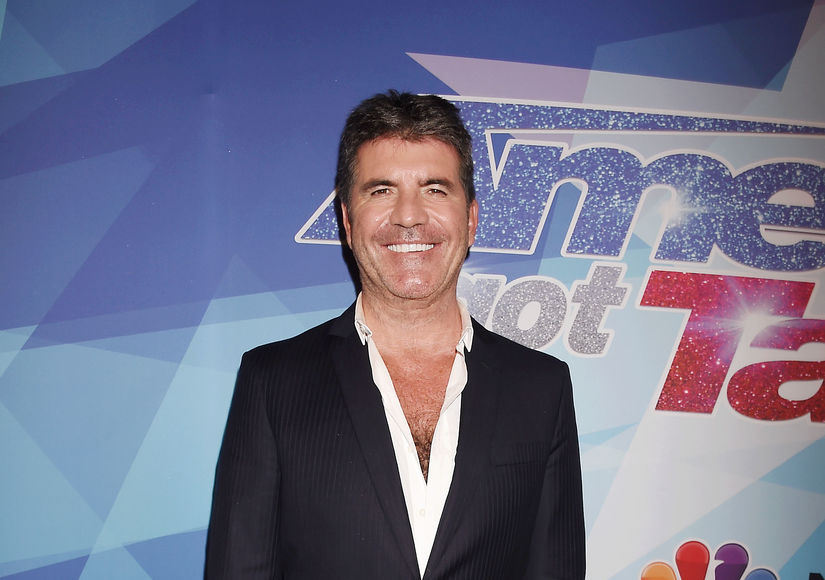 Simon Cowell addresses crude 'wedding night' aimed at Mel B