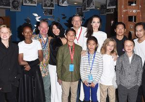 Angelina Jolie Takes All 6 Kids to Telluride Film Festival