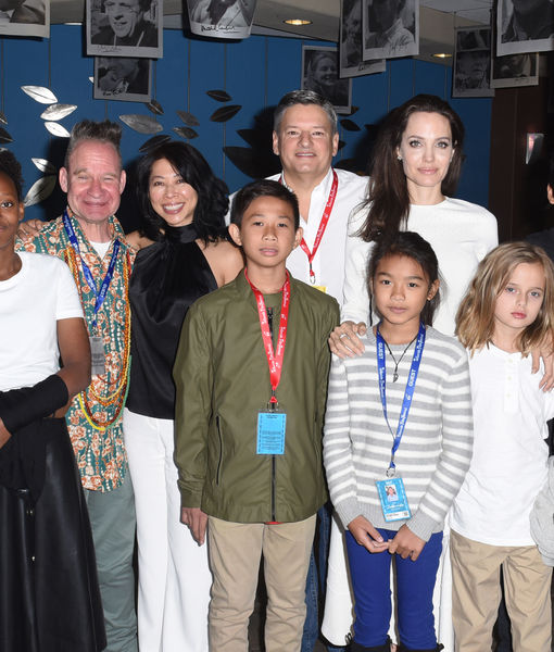 Angelina Jolie Takes All 6 Kids to Telluride Film Festival