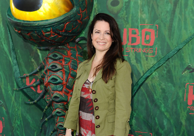 Holly Marie Combs  Engaged — See Her Ring!
