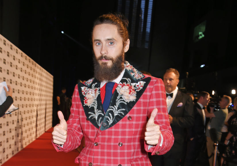 Jared Leto Ready to Shave His Beard — Who Is He Mistaken For?