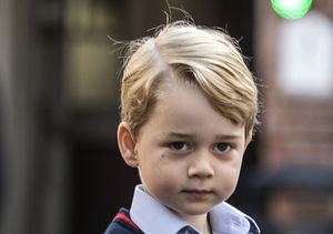 Cute Pics! Prince George's First Day of School — Where Was Mom Kate…