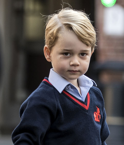 Cute Pics! Prince George's First Day of School — Where Was Mom Kate Middleton?