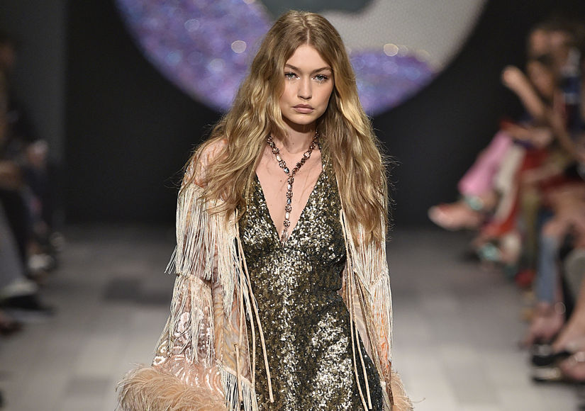 Gigi Hadid Walks the Runway at NYFW in the Middle of a Major Wardrobe…