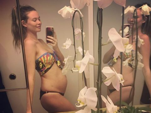 061c6ace223b0 'The Voice' Baby on the Way! Adam Levine and Behati Prinsloo Expecting