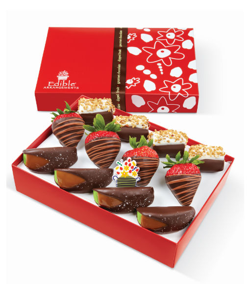 Win It! The Autumn Harvest Dipped Fruit Trio™ Box from Edible Arrangements