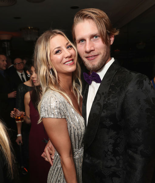 Kaley Cuoco on Not Living with Her Husband: 'We Are Building Our Dream House'