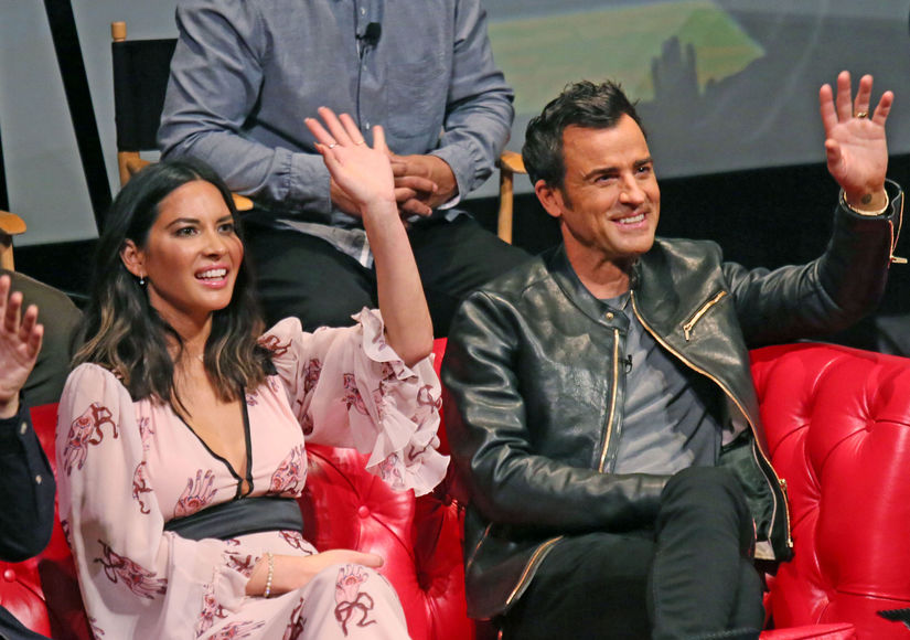 Justin Theroux & Olivia Munn Talk 'LEGO Ninjago' and Their Very Public Private Lives