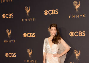 Jessica Biel Dishes on Sweaty Disaster Before the Emmys