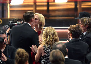 'Big Little Lies' Kiss! Nicole Kidman Congratulates Alexander…