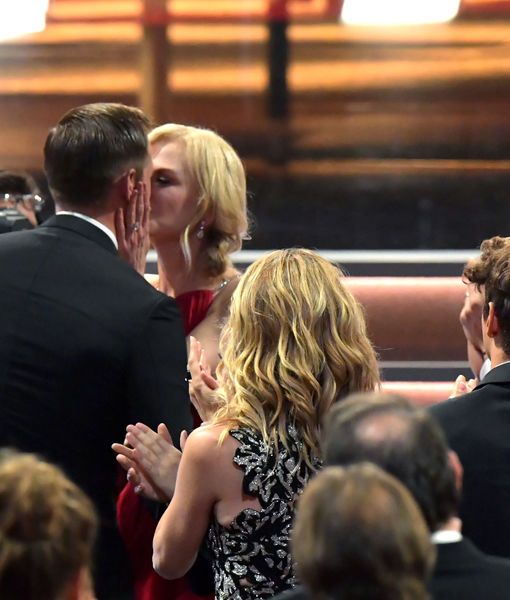 'Big Little Lies' Kiss! Nicole Kidman Congratulates Alexander Skarsgård at the…