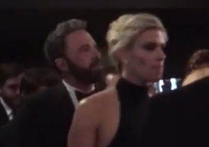 Ben Affleck's Date Night with Lindsay Shookus at Emmys 2017