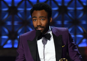 Donald Glover Reveals He's Expecting Baby #2 in Emmys Acceptance…