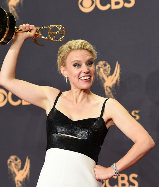 Emmys 2017 Red Carpet! Kate McKinnon Explains Why It's Exciting to Be a…