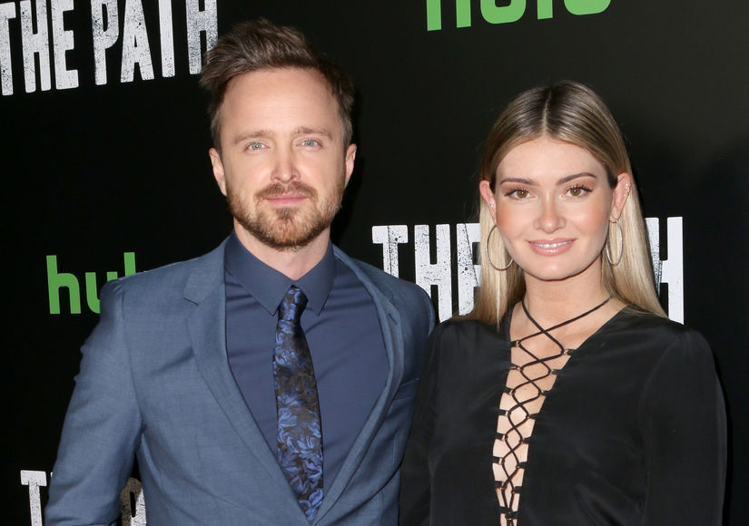 Aaron Paul & Wife Lauren Parsekian Welcome Baby Girl – See the First Photos!