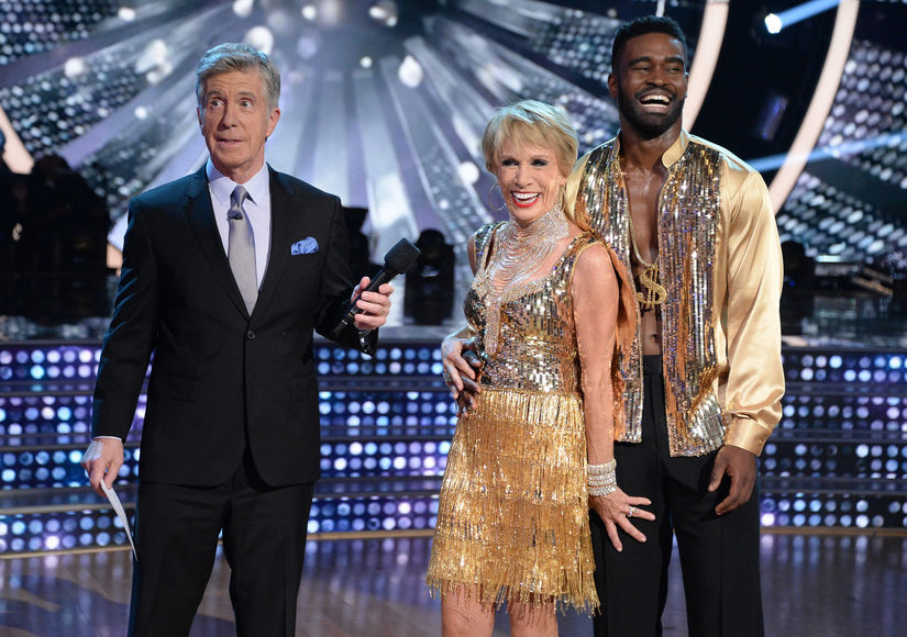 Pic! Barbara Corcoran's Handsy Moment with Keo Motsepe on 'Dancing with the Stars' Premiere