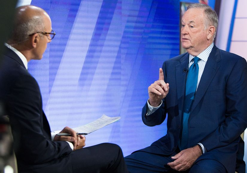 Bill O'Reilly Calls Firing from Fox News a 'Political and Financial Hit…