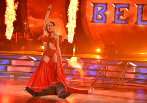 Does Nikki Bella Practice Her 'DWTS' Moves on John Cena? Plus: His Reaction…