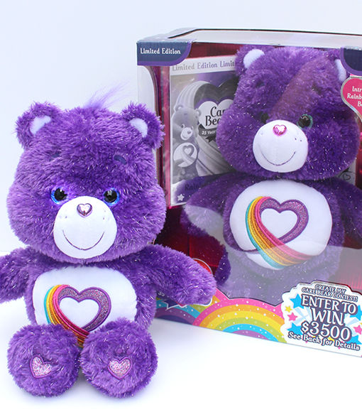 Win It! A Collectible Rainbow Heart Care Bear