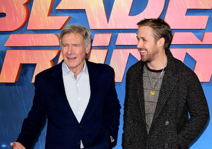 Harrison Ford & Ryan Gosling on That 'Blade Runner 2049' Punch