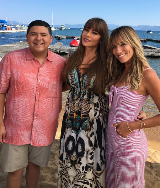 Sofía Vergara Opens Up About Baring It All, Plus: Renee on Location with 'Modern Family' Cast