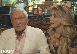 'Extra's Last Sit-Down with Hugh Hefner