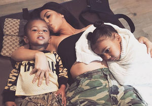 Kim K Shares New Pic of Saint After Confirming Third Baby