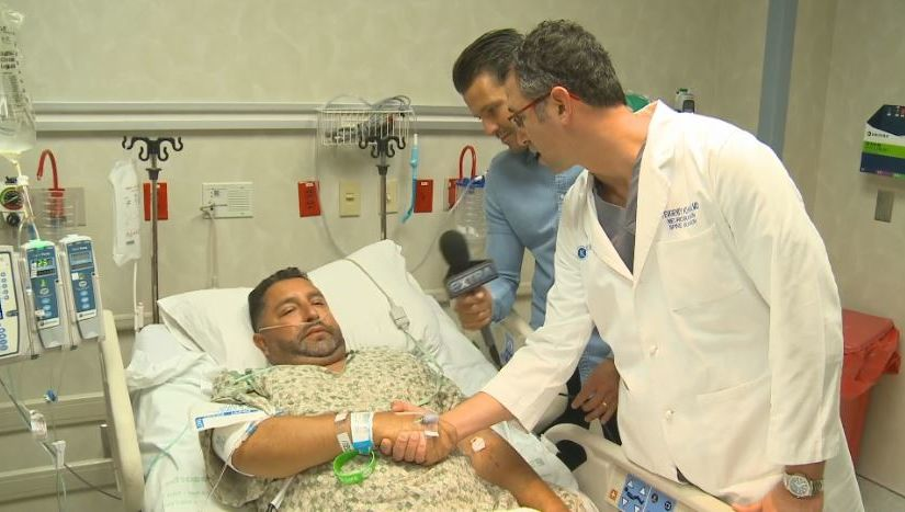 An Emotional Reunion Between a Las Vegas Massacre Survivor and His Surgeon