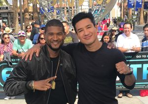 Megastar! Usher Talks Mentoring for First Ever Crowdsourced Talent Show