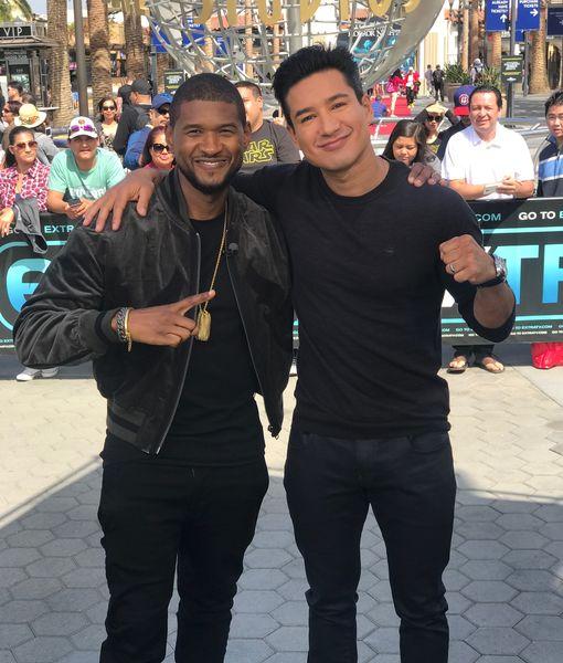Megastar! Usher Talks Mentoring for First Ever Crowdsourced Talent Show